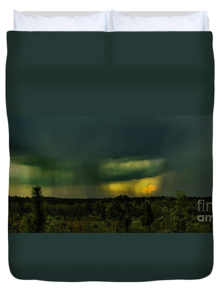Spring Showers Duvet Cover