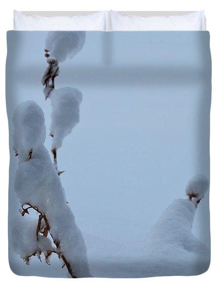 Spring Snow Duvet Cover