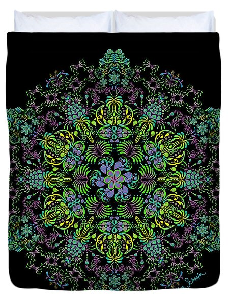 Spring Spiral Duvet Cover