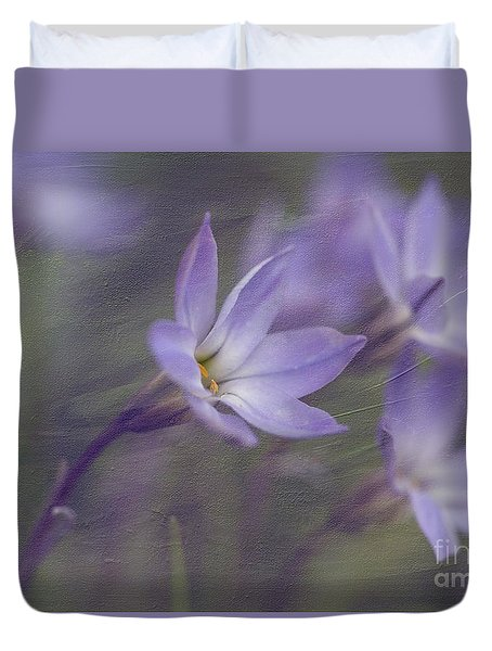 Spring Starflower Duvet Cover