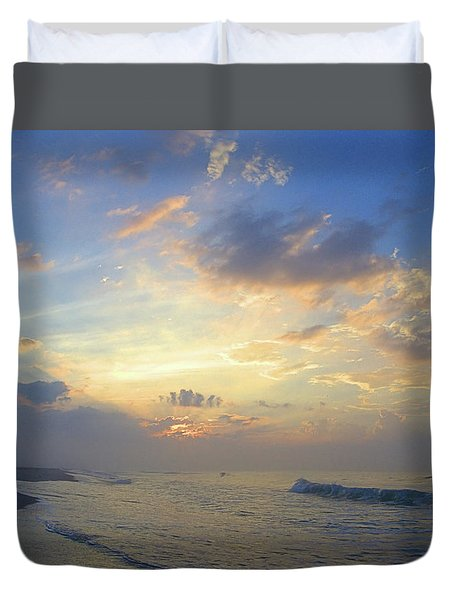 Spring Sunrise Duvet Cover