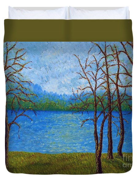 Spring Time In Arkansas Duvet Cover
