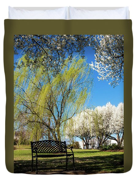Spring Time Duvet Cover