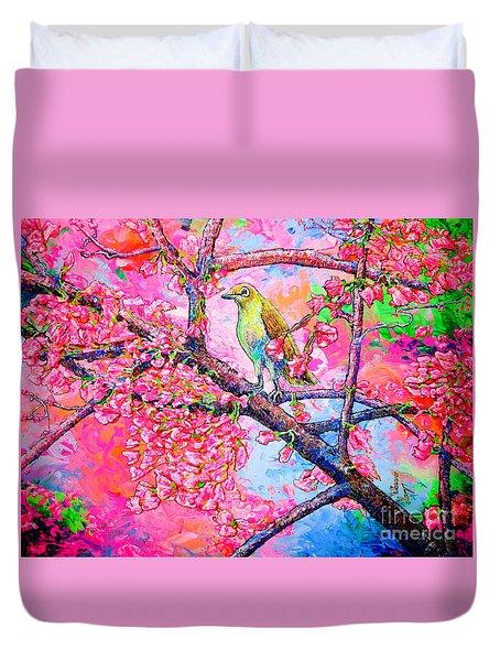 Spring Time Duvet Cover by Viktor Lazarev