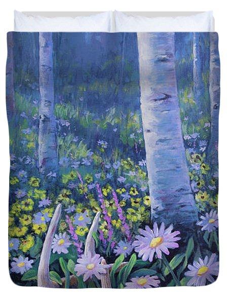 Spring Treasures Duvet Cover
