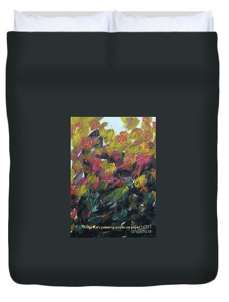 Spring Duvet Cover by Usha Rai