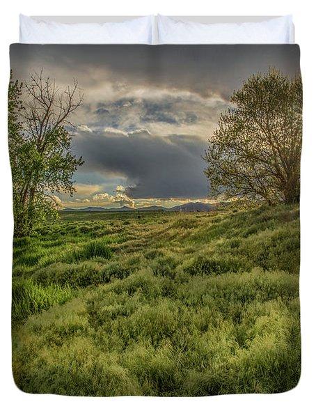 Spring Utopia Duvet Cover