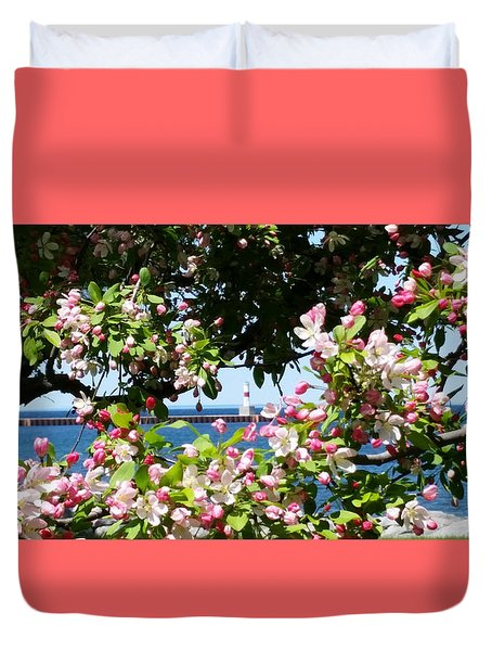 Spring View Duvet Cover