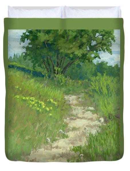 Spring Walk Duvet Cover