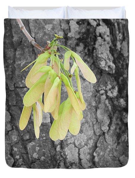 Spring Whirligig Duvet Cover