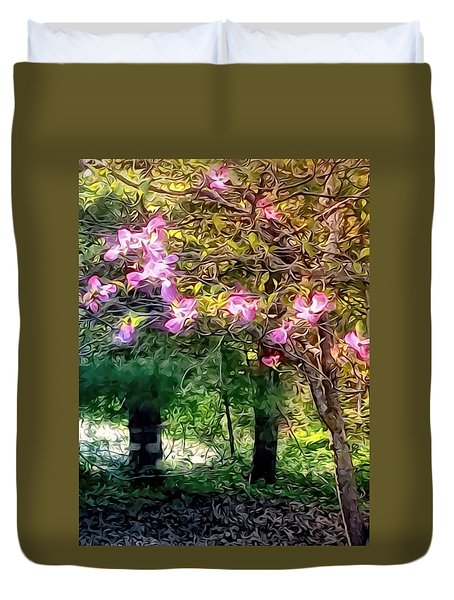 Spring Will Come Duvet Cover