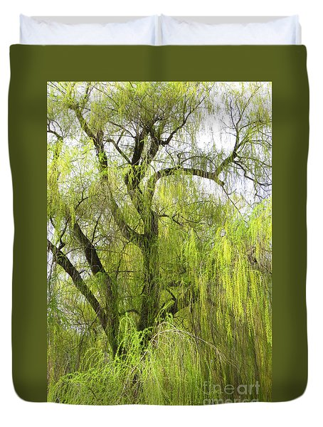 Spring Willow Duvet Cover
