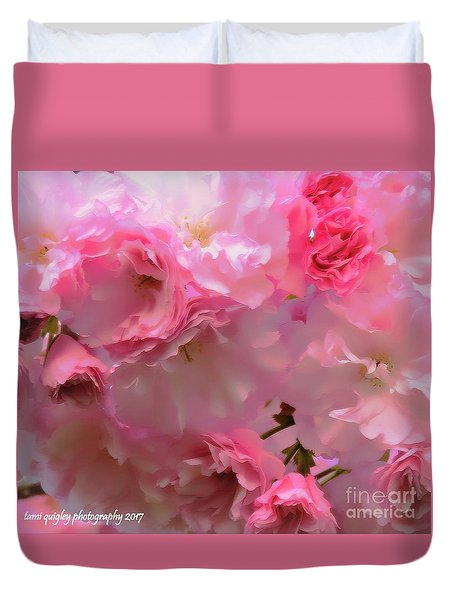 Spring With A Cherry On Top Duvet Cover