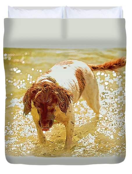 Springer Wc Duvet Cover by Constantine Gregory