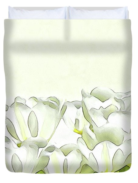 Spring's Beauties Duvet Cover