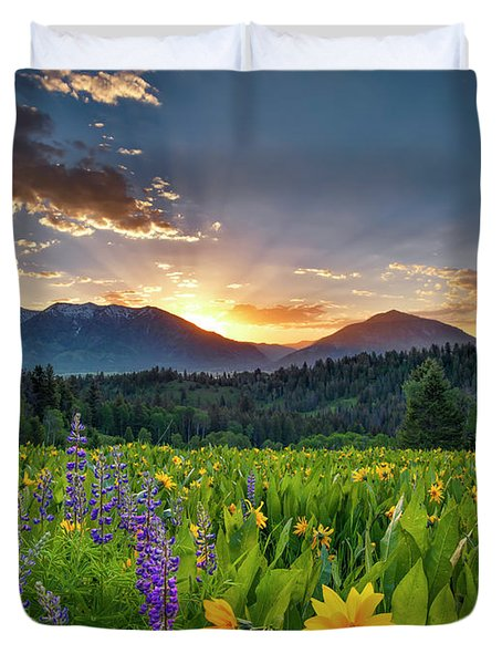 Spring's Delight Duvet Cover