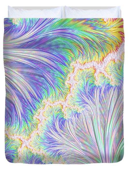 Springtime Colors Duvet Cover