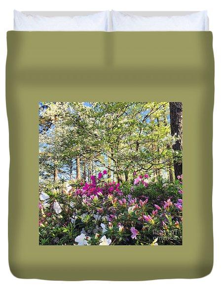 Springtime In Carolina Duvet Cover