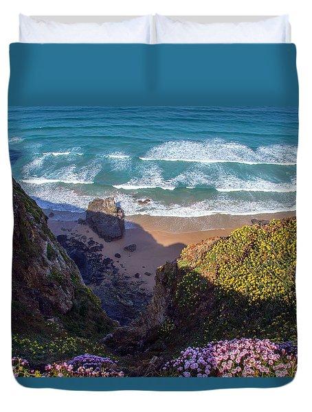 Springtime In Cornwall Duvet Cover