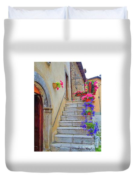 Springtime In Italy  Duvet Cover