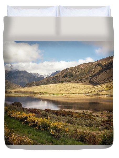 Springtime In New Zealand Duvet Cover