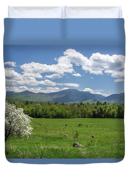Springtime In Sugar Hill Duvet Cover