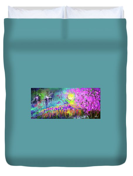 Springtime In Tennessee Duvet Cover