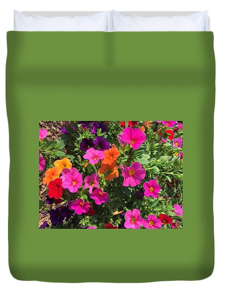 Springtime On The Farm Duvet Cover