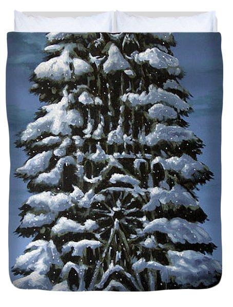 Spruce Duvet Cover