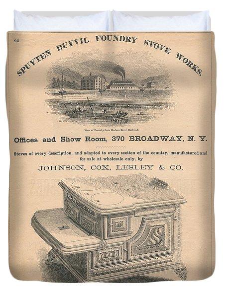 Spuyten Duyvil Stoveworks  Duvet Cover