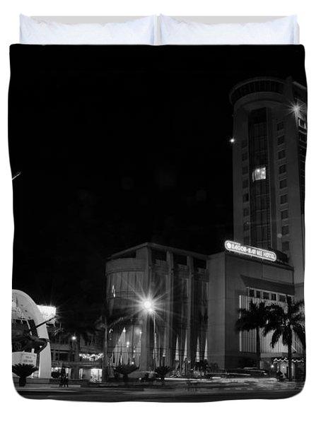 square Buon Me Thuot city Duvet Cover