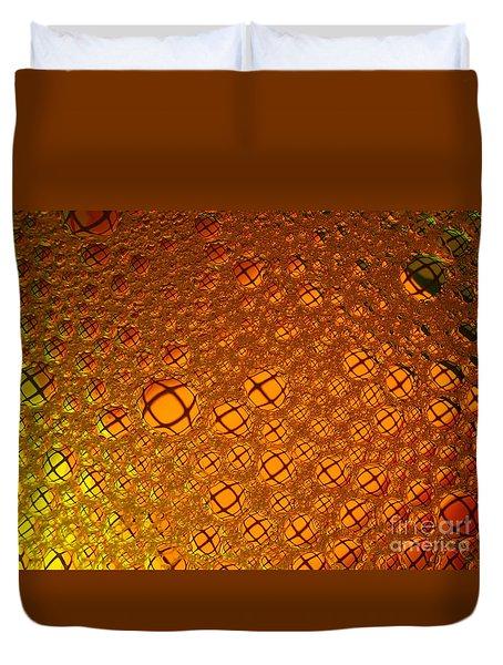 Squared Duvet Cover by Trena Mara