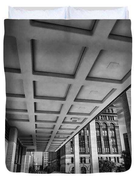 Squares Of Architecture   Duvet Cover