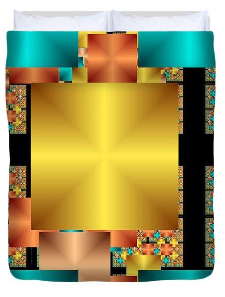 Squares Duvet Cover