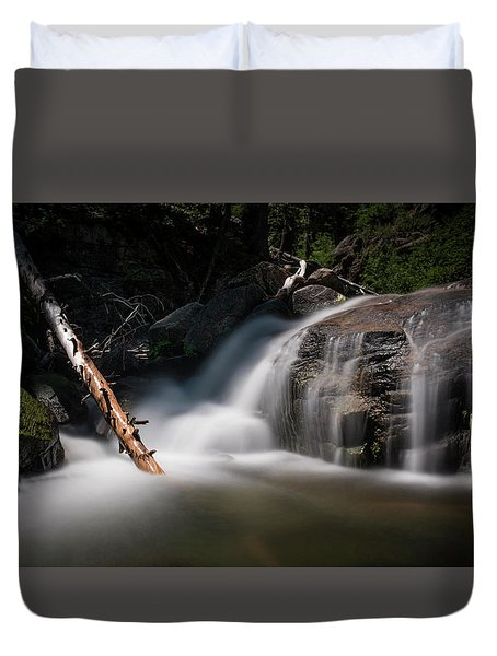 Duvet Cover featuring the photograph Squaw Creek by Sean Foster