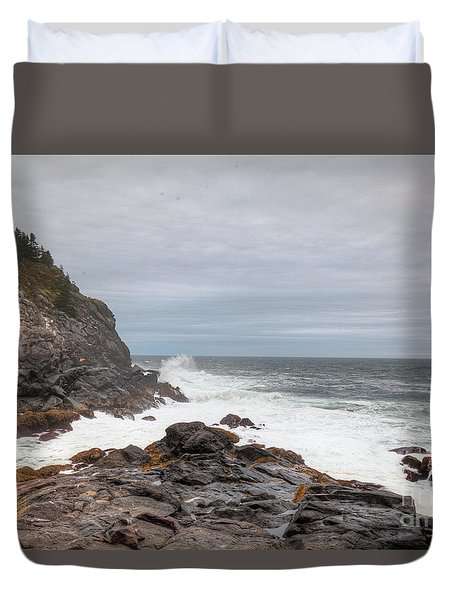 Squeaker Cove Duvet Cover