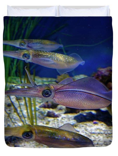 Squid Duvet Cover