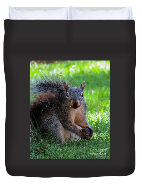 Squirrel 2 Duvet Cover
