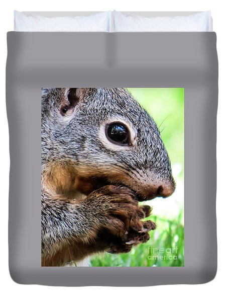 Squirrel 3 Duvet Cover