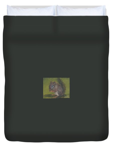 Squirrel Duvet Cover by Jessmyne Stephenson