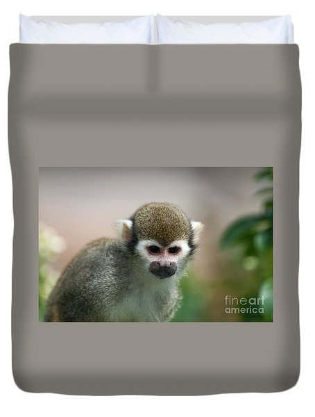 Squirrel Monkey Duvet Cover