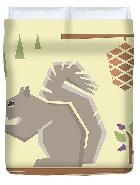 Squirrel1 Duvet Cover