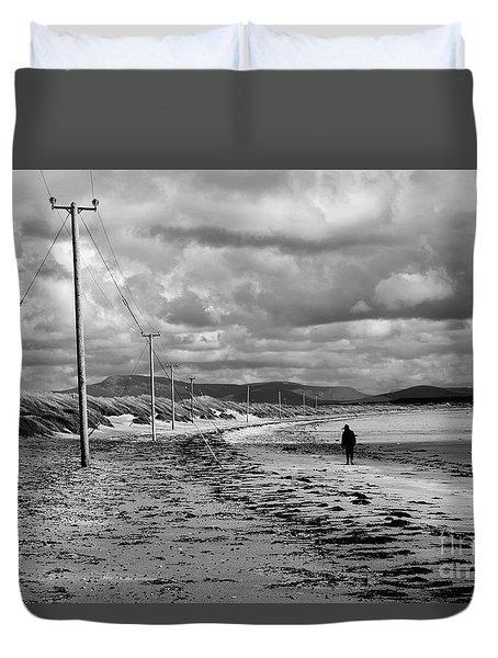 Srah Beach Belmullet Duvet Cover