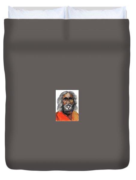 Sri Yukteswar Giri Duvet Cover