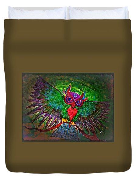 Ss Owl Duvet Cover
