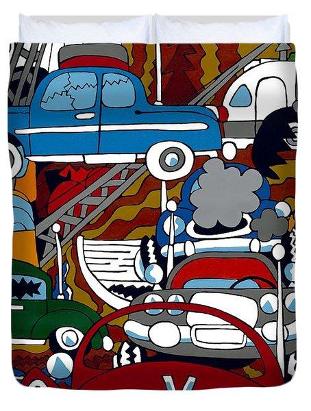 Ss Studebaker Duvet Cover