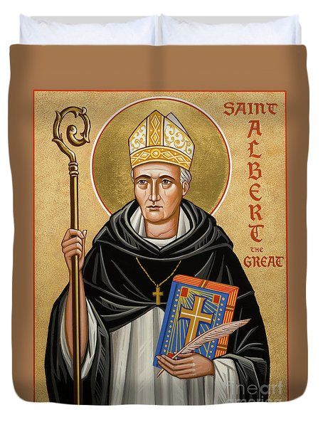 St. Albert The Great - Jcatg Duvet Cover