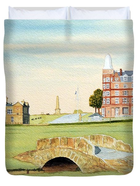 St Andrews Golf Course Scotland - Royal And Ancient Duvet Cover