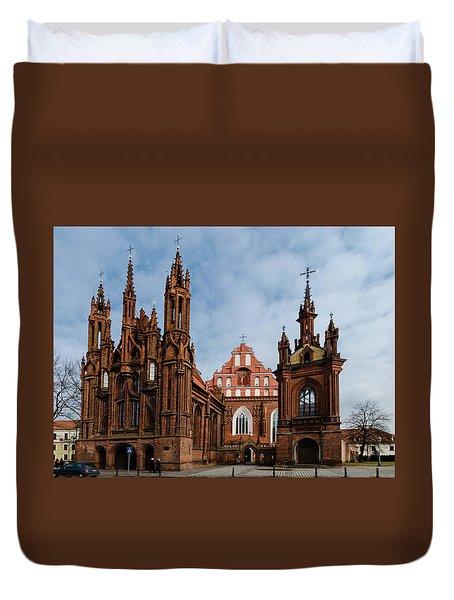 St Annes Church Duvet Cover