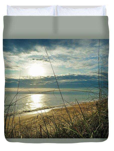 St Aug Sunrise Duvet Cover